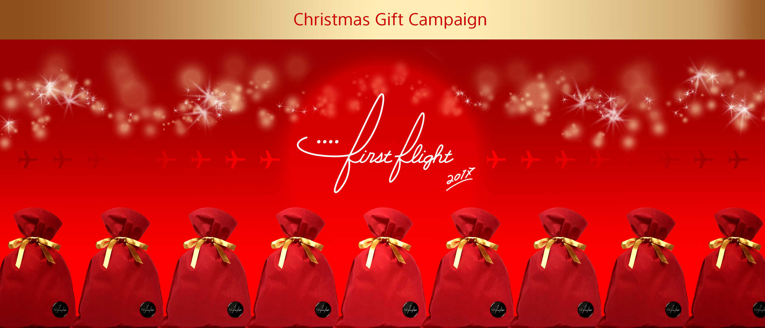 Christmas gift campaign first flight negle Choice Image