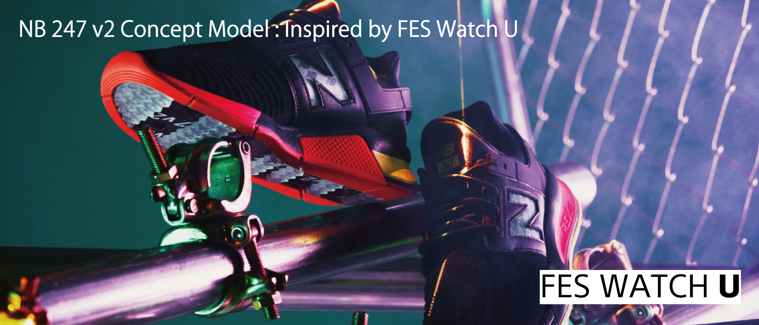 NB 247 v2 Concept Model:Inspired by FES Watch U FES / WATCH U